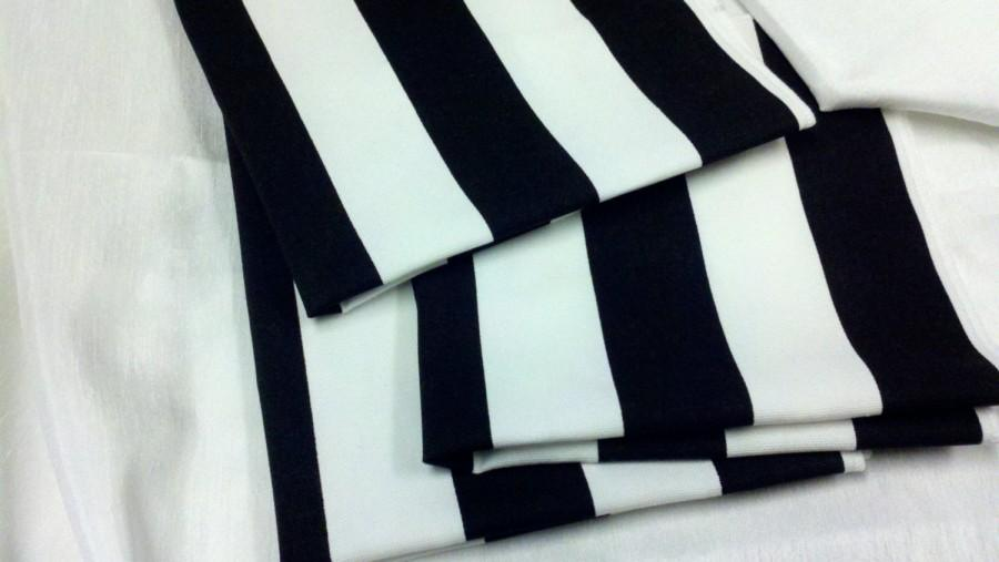 Black White Striped Table Runner Black White Striped Runner 11
