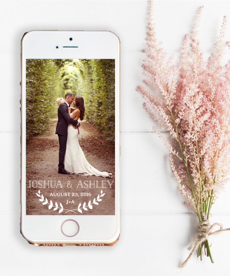 wedding snapchat filter wedding snapchat filter template simple royal floral multicolor. Black Bedroom Furniture Sets. Home Design Ideas