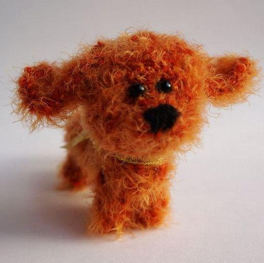 Wedding - Crochet red Dog crochet puppy stuffed puppy stuffed dog Amigurumi puppy toy stuffed animal dog toy kawaii puppy stuffed toy Halloween toy