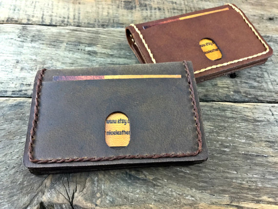 Minimalist Wallet Mens Personalized - Personalized Leather Wallet ...