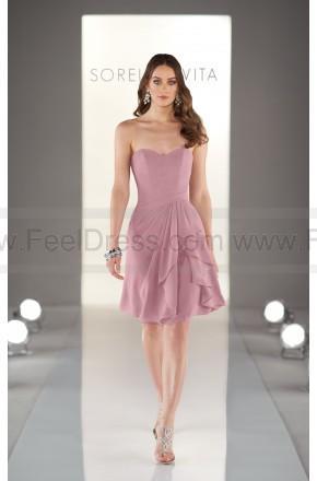 Wedding - Sorella Vita Light Pink Bridesmaid Dresses Style 8377