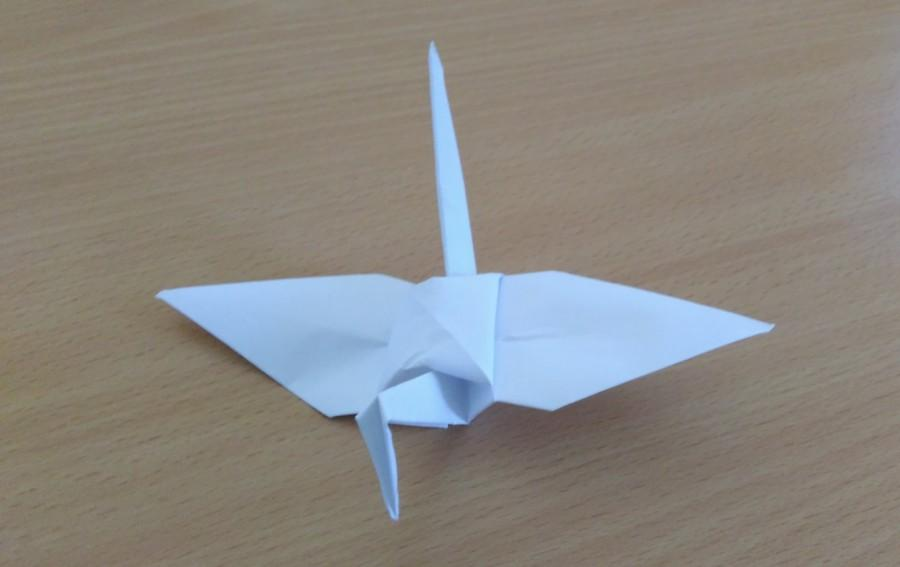 Origami wedding crane paper origami crane origami crane for 1000 paper cranes wedding decoration