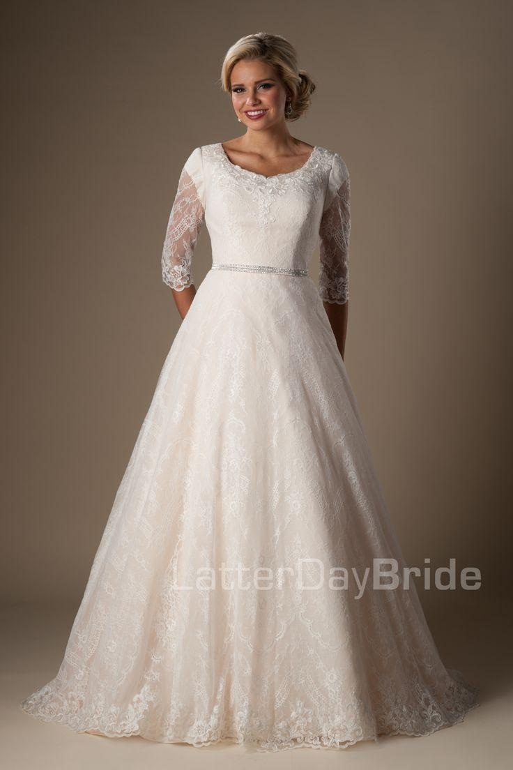 Kleiden   Modest Wedding Dresses  Windham 20   Weddbook