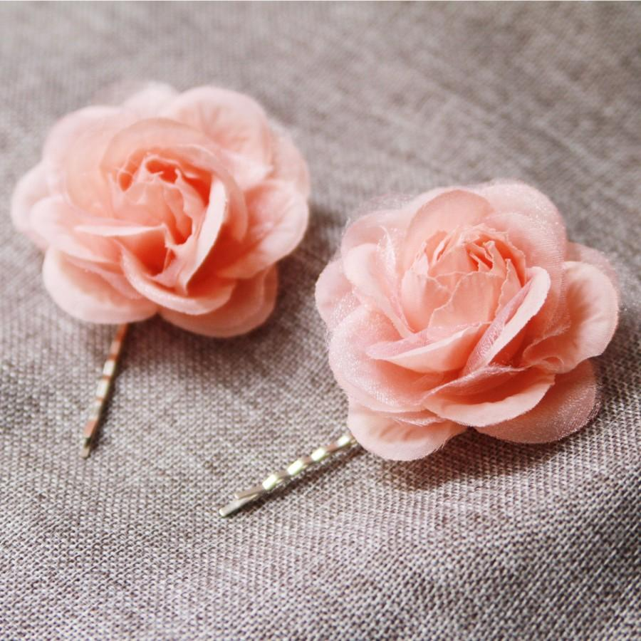 Flower Hair Pin Bridal Hair Pins Wedding Hair Accessories Flower