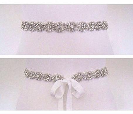 Hochzeit - All around bridal belt ,all around wedding belt