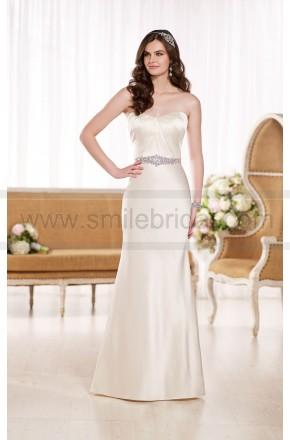 Wedding - Essense of Australia Modified A-Line Wedding Dress Style D1852