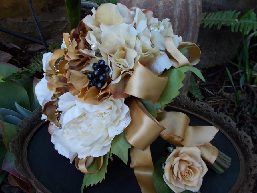 Mariage - Autumn Jewel Bridal Bouquet