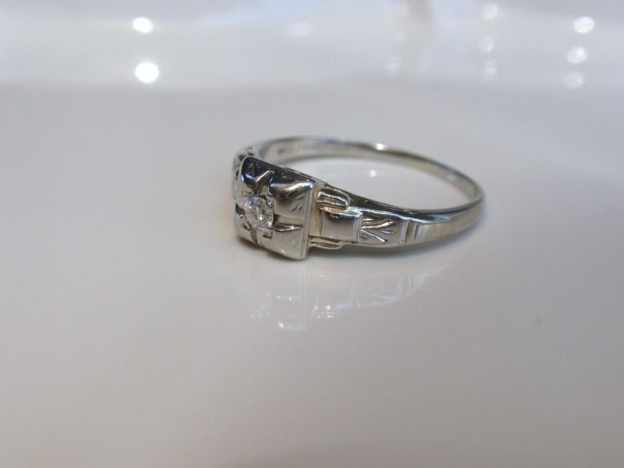 1940 S Style Wedding Rings Wedding Rings