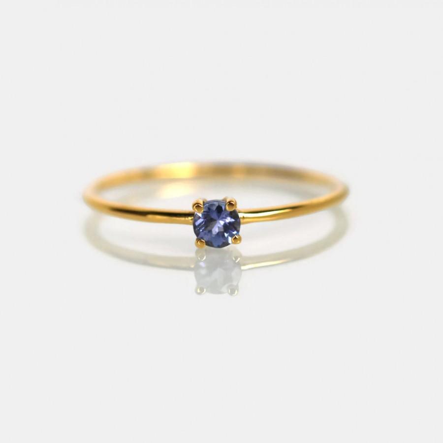 زفاف - gold tanzanite ring, natural tanzanite gemstone ring, tanzanite engagement ring, tanzanite jewelry, gold tanzanite ring, promise ring