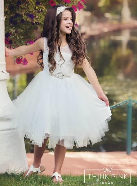 Stunning flower girl dressoff white lace flower girl dress tulle stunning flower girl dressoff white lace flower girl dress tulle dress easter dress toddler flower girl dress mightylinksfo