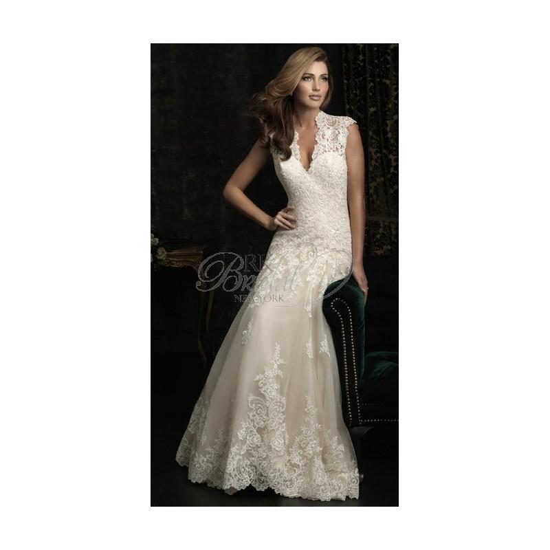 Wedding - Allure Bridal Fall 2012 - Style 8965 - Elegant Wedding Dresses