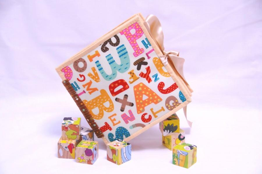 Свадьба - Quiet book for kids, busy book, activity book, development toy - English Alphabet