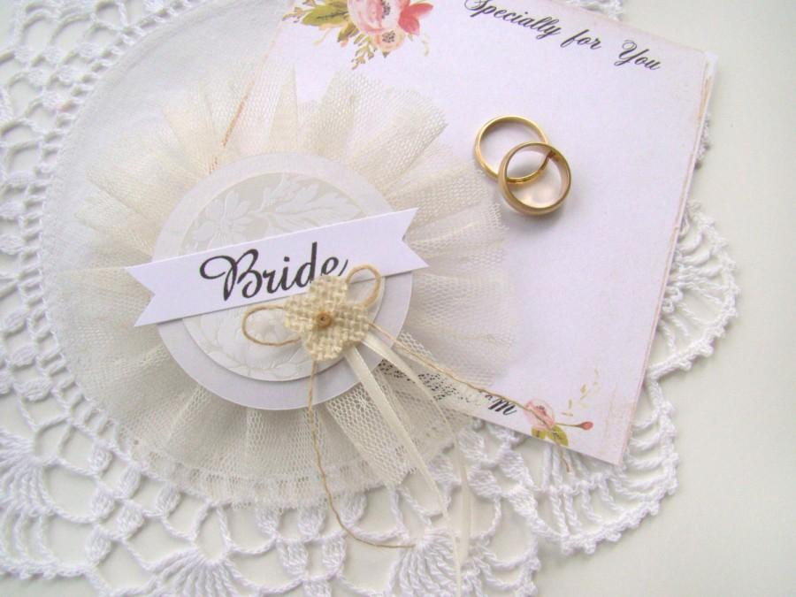 bride badge bridal shower corsage bride pin white ivory bachelorette party pins bridal shower hen party pins wedding party badges