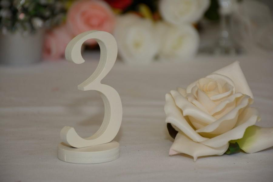 Свадьба - Wedding Table Numbers-  Weddings / Decor - Table Numbers- Table Number  1 to 20 set