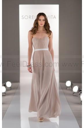 Wedding - Sorella Vita Tan Bridesmaid Dress Style 8414