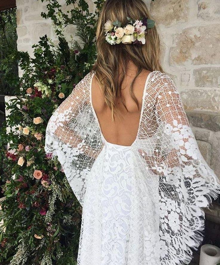 Dress Bohemian Wedding Dress 2599385 Weddbook