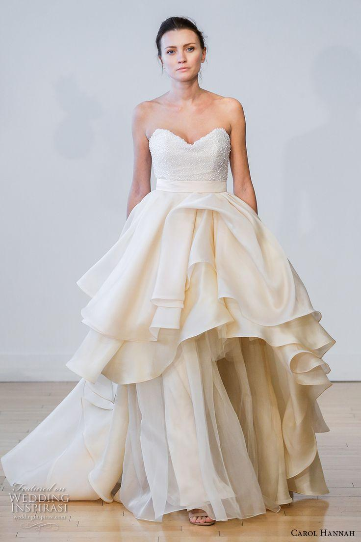 "Mariage - Carol Hannah 2017 Wedding Dresses — ""Botanica"" Bridal Collection"
