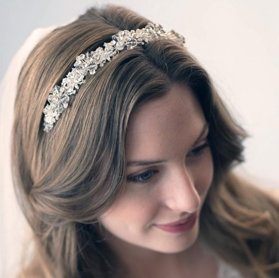 c37c662d4421 Swarovski Crystal Bridal Headband