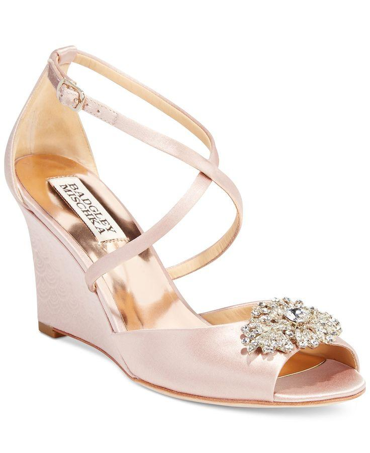 Mariage - Evening Wedge Sandals
