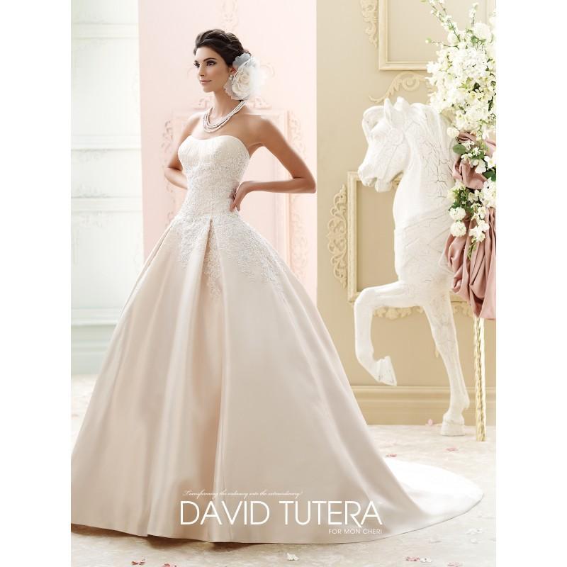 Hochzeit - David Tutera 215260 - Stunning Cheap Wedding Dresses