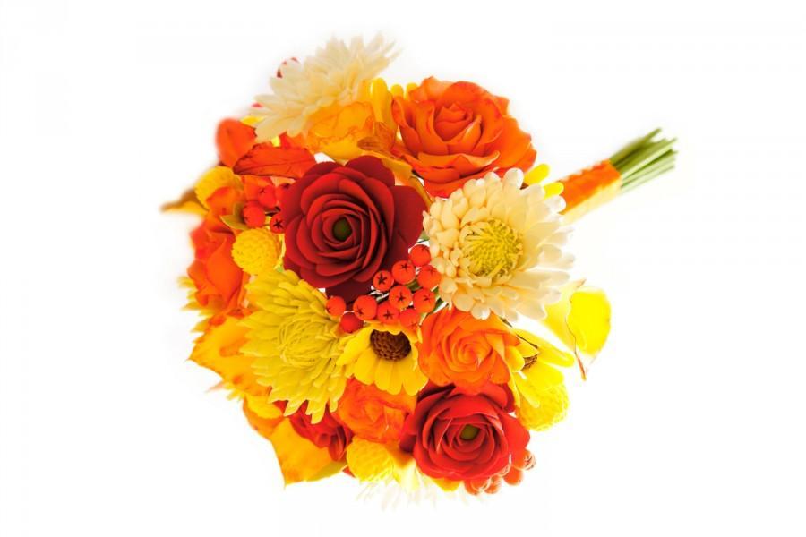 زفاف - Fall wedding bouquet