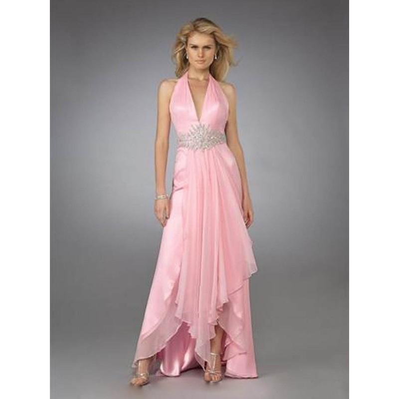 b79ccd9d243 Nice Sheath   Column Halter Beading Sleeveless Chiffon Prom Dresses   Evening  Dresses In Canada Prom Dress Prices - dressosity.com