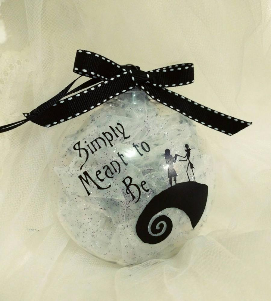 Tim Burtons Nightmare Before Christmas Inspired Ornament W ...