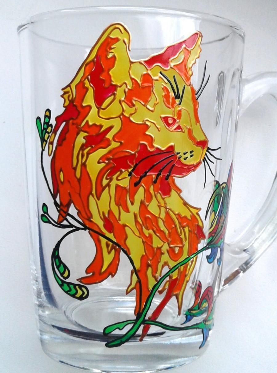 Tea Mug Funny Cat Lover Coffee