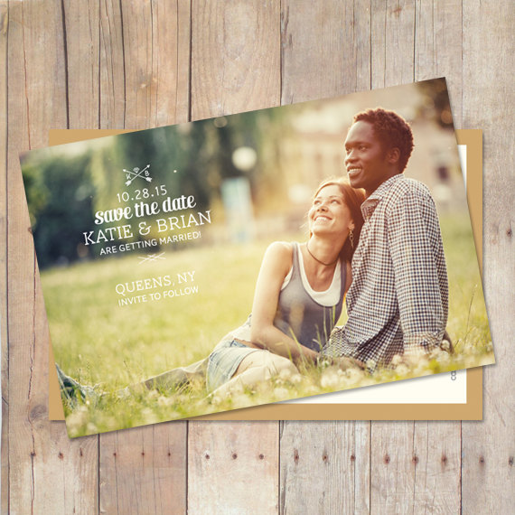 Свадьба - Save The Date Cards, Save The Date Magnet, Save The Date Postcard, Save The Dates - Complete