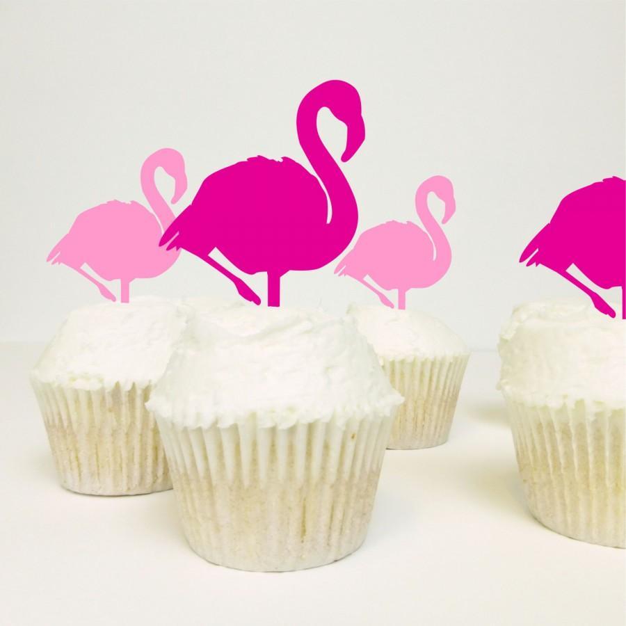 Mariage - Flamingo Food Picks - Pack of 3