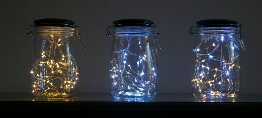 Свадьба - Firefly Jar Light **battery powered-entirely portable** by LightningBugLighting