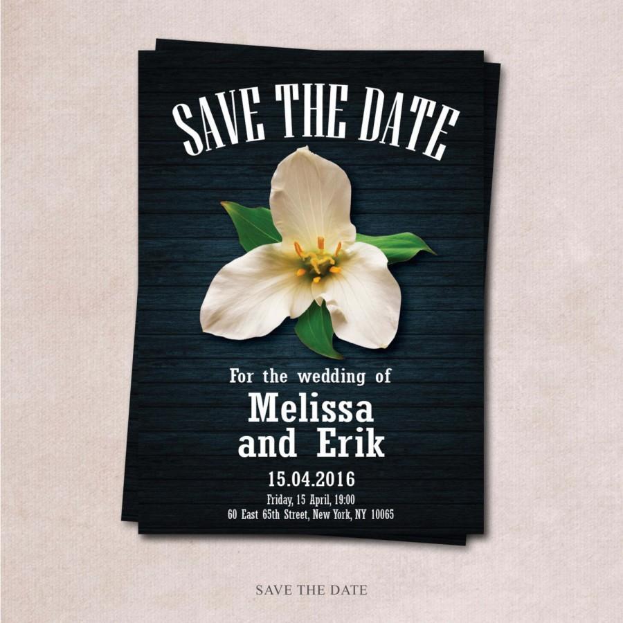 savethe date wedding reception celebration invitation custom