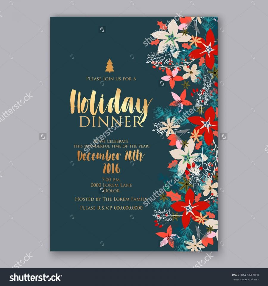 Wedding - Floral card template