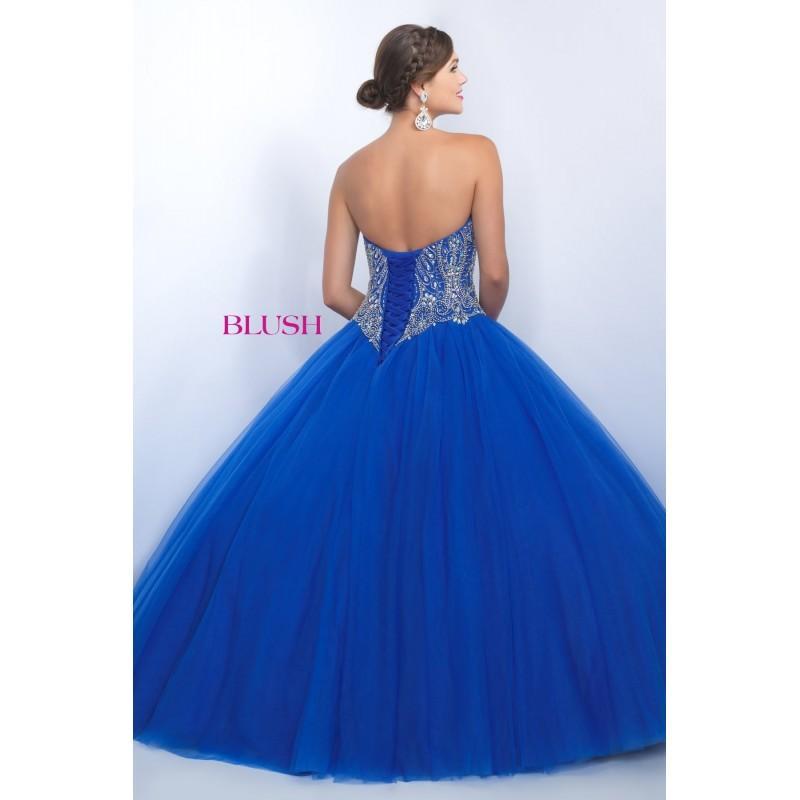 زفاف - Blush Prom Style Q150 -  Designer Wedding Dresses
