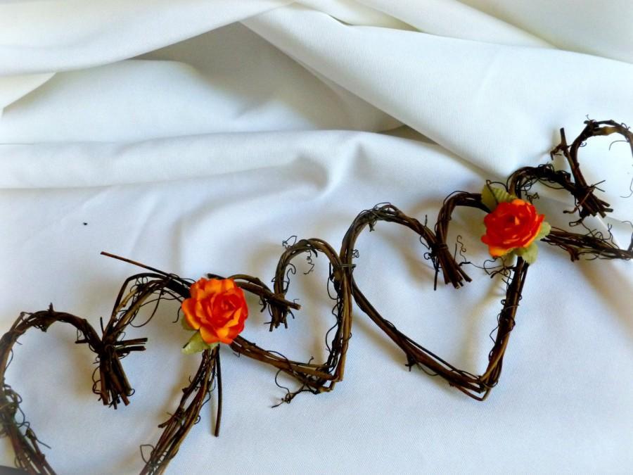 Свадьба - Rustic Wedding Decor, Decorations, Country Garland 10ft