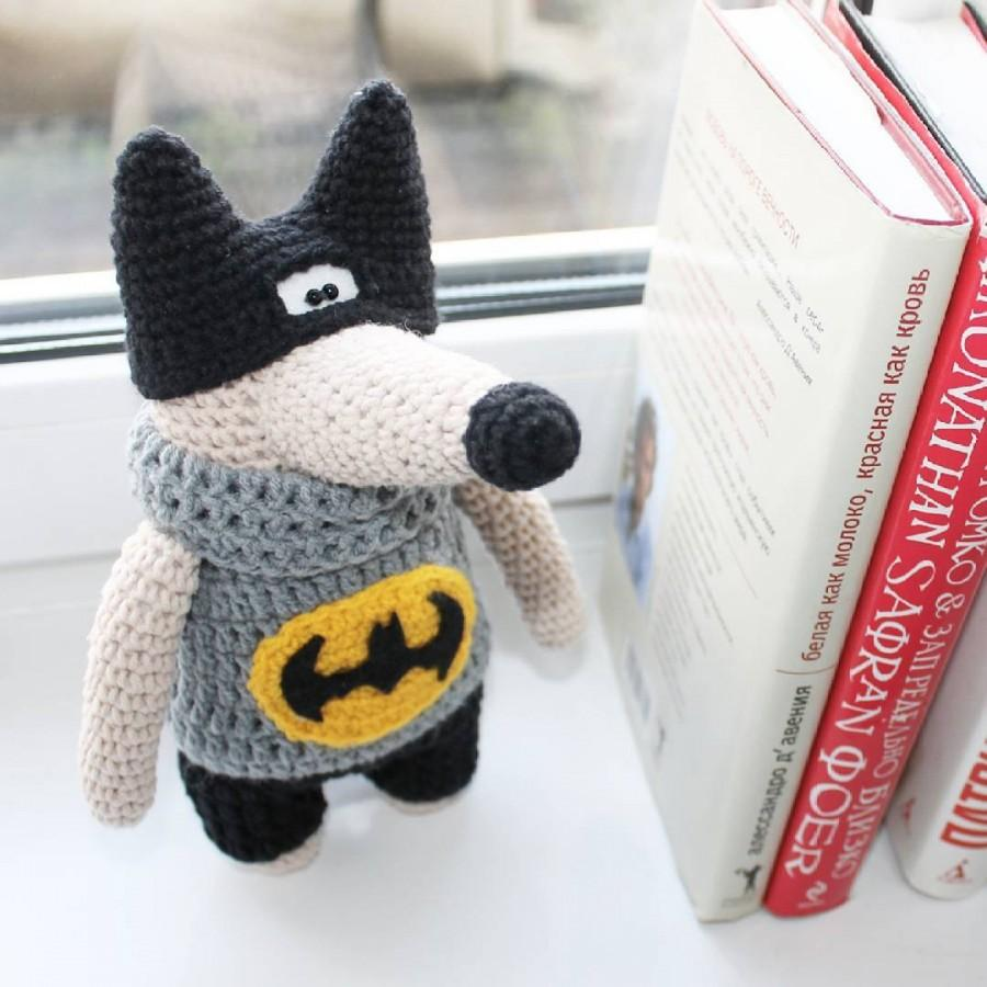 Hochzeit - Wolf stuffed toy doll  knitted wolf crochet wolf hand knit toy beige wolf batman toy plush wolf doll fuzzy wolf toy cute wolf amigurumi wolf