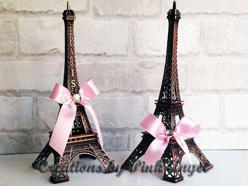 10 bronze eiffel tower eiffel tower centerpiece paris wedding decoration paris baby shower decor paris bridal shower 1 tower included