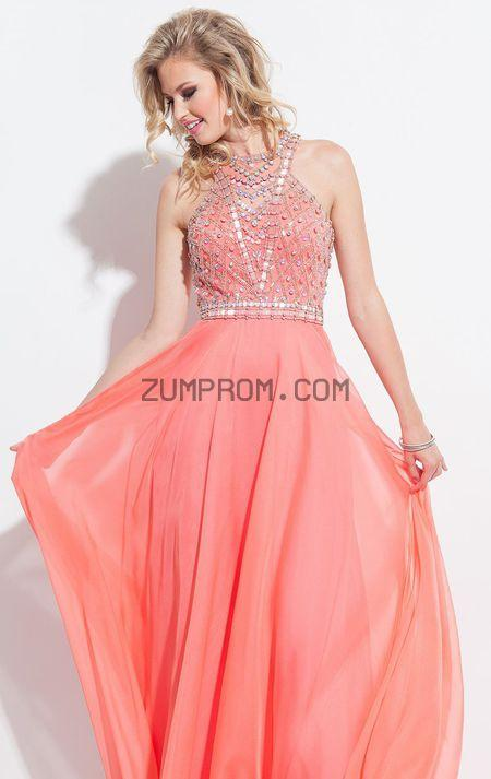 زفاف - Style 2068 Beaded Chiffon Gown by Rachel Allan Princess