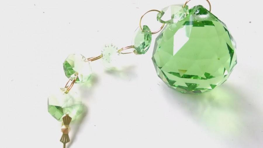 زفاف - Spring Green Ball 30mm Ornament Chandelier Crystal