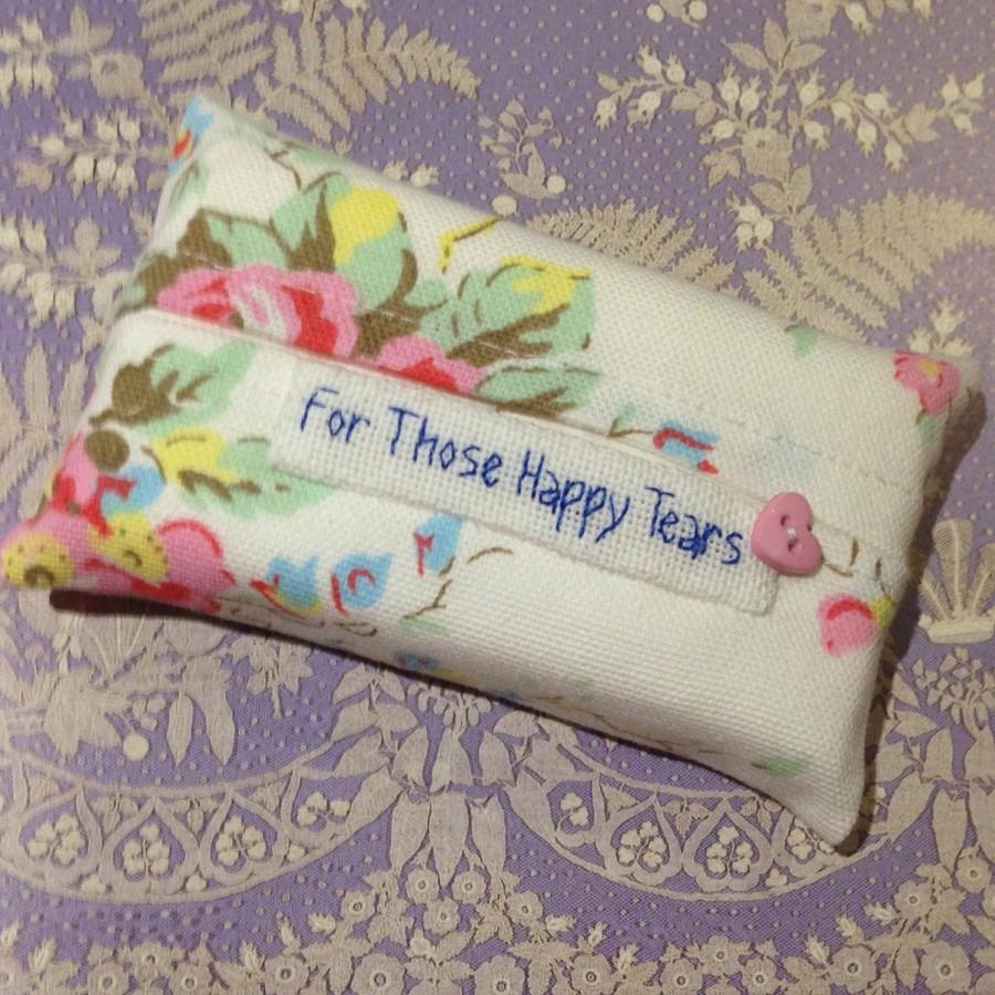 Свадьба - Cath Kidston For Those Happy Tears Tissue Holder -Pocket Sized Travel