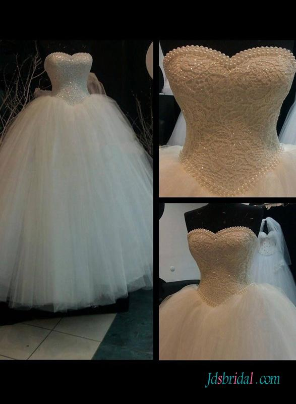 Mariage - Vintage fairytale princess basque ball gown wedding dress