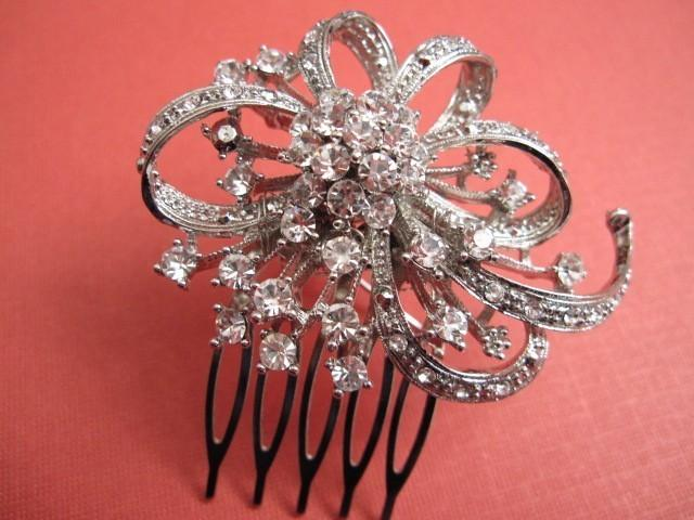 Mariage - Wedding hair accessories,Wedding hair jewelry,Bridal hair accessories,Rhinestone headpiece,Wedding hair comb,Bridal hair comb vintage,clip