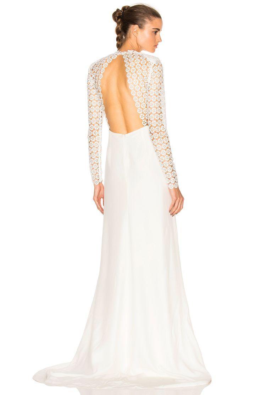 Свадьба -  Eva Backless Silk Wedding Dress