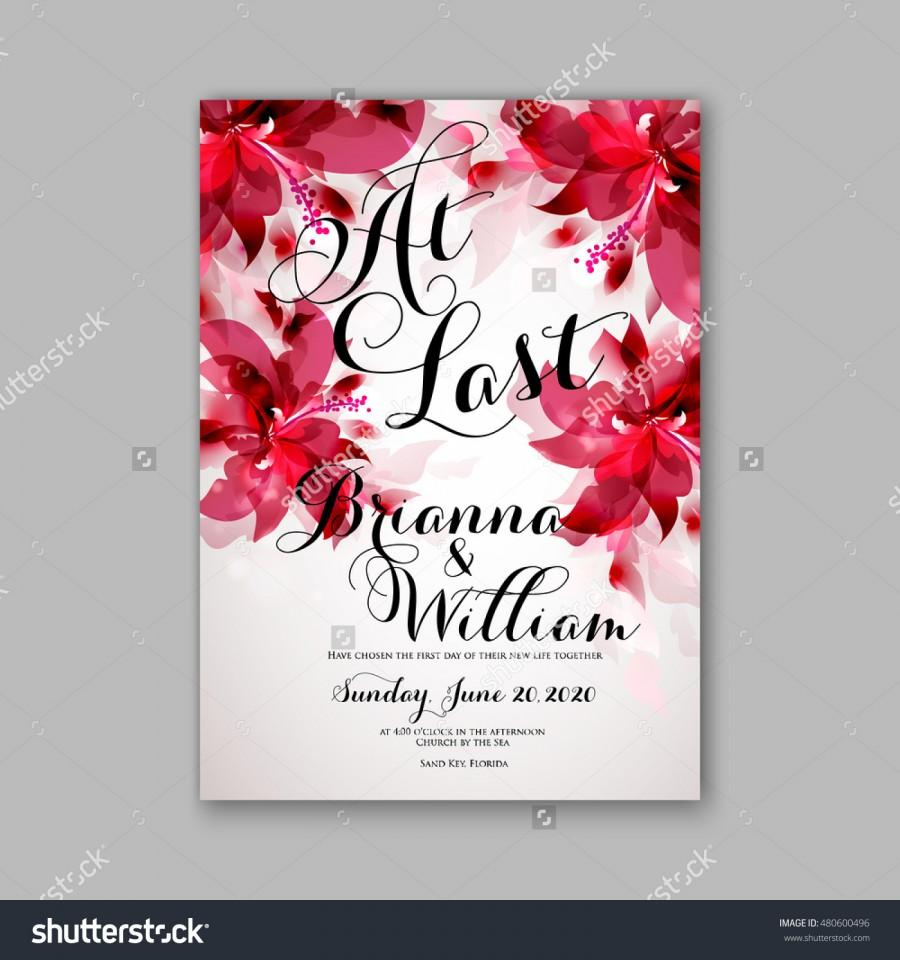 Romantic Pink Peony Bouquet Bride Wedding Invitation Template Design ...