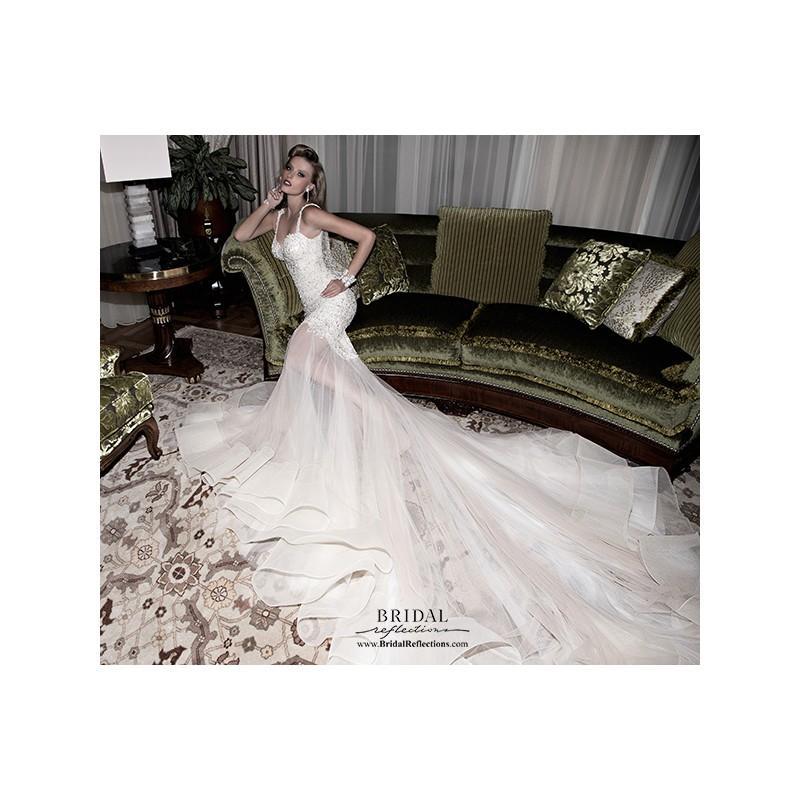 Hochzeit - Galia Lahav Lana - Burgundy Evening Dresses