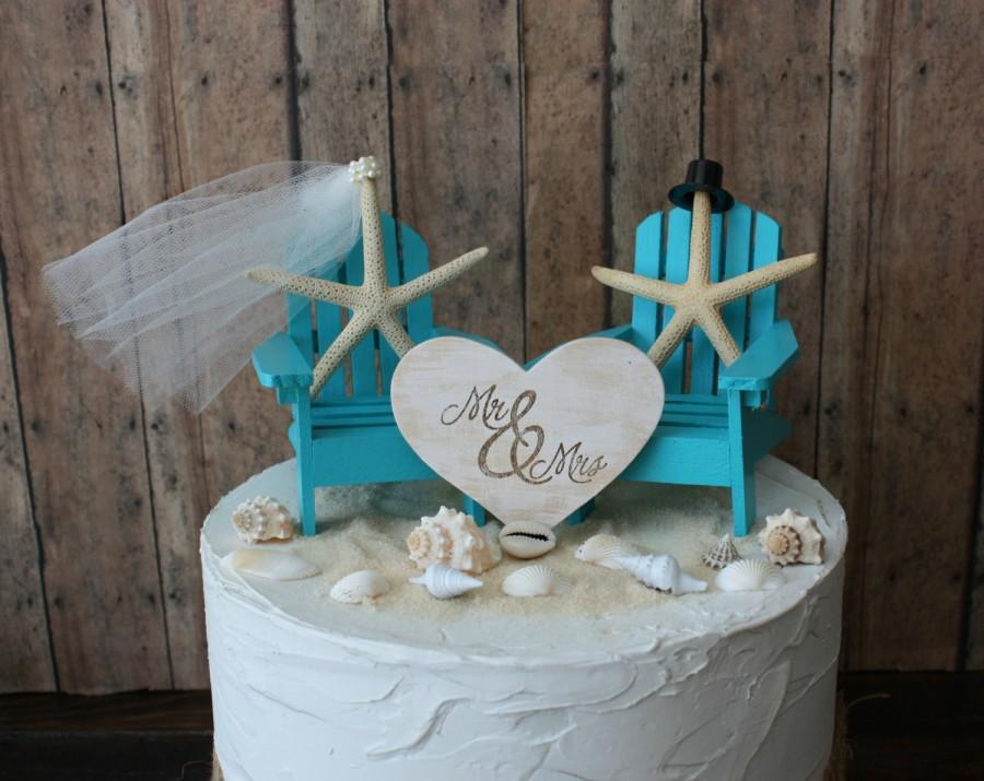 Ivory Bride Adirondack Chair Wedding Cake Topper Miniature