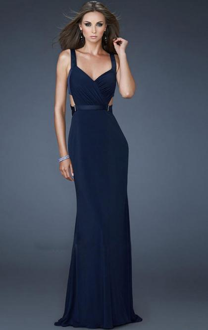 Wedding - Beautiful Long Blue Tailor Made Evening Prom Dress (LFNCE0011) cheap online-MarieProm UK