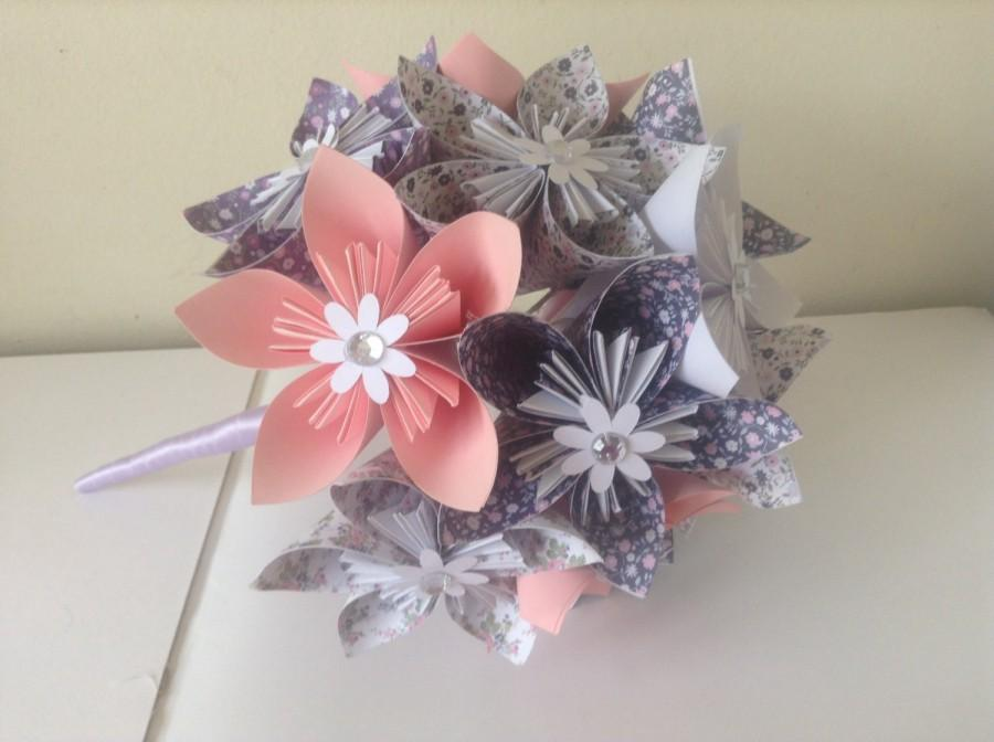 Dcor origami kusudama paper flower bouquet 2601569 weddbook origami kusudama paper flower bouquet mightylinksfo