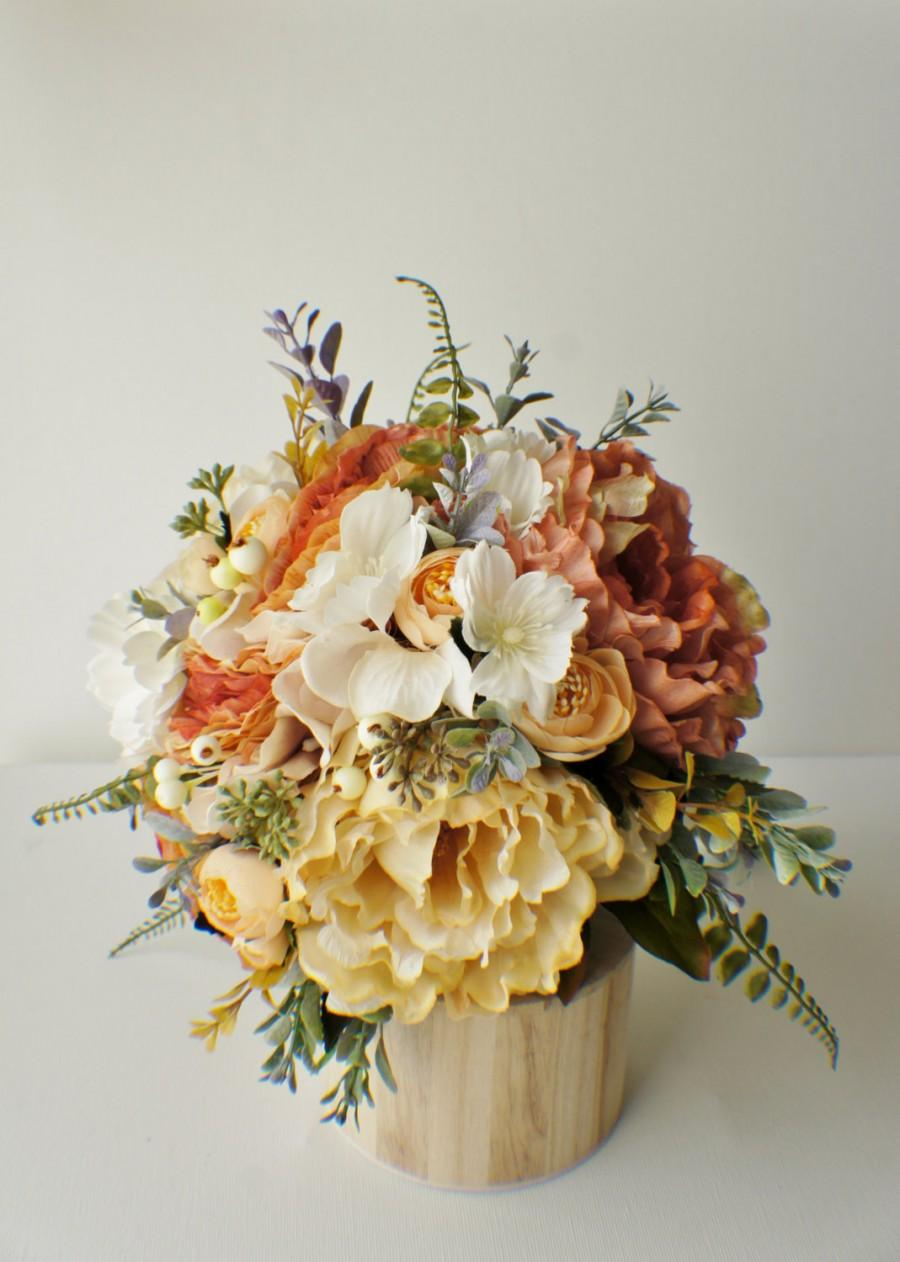 Mariage - READY TO SHIP Bridal Bouquet, Fall Bouquet, Winter Bouquet, Vintage Wedding, Bridal Bouquet, Brides Bouquet, Wedding Bouquet