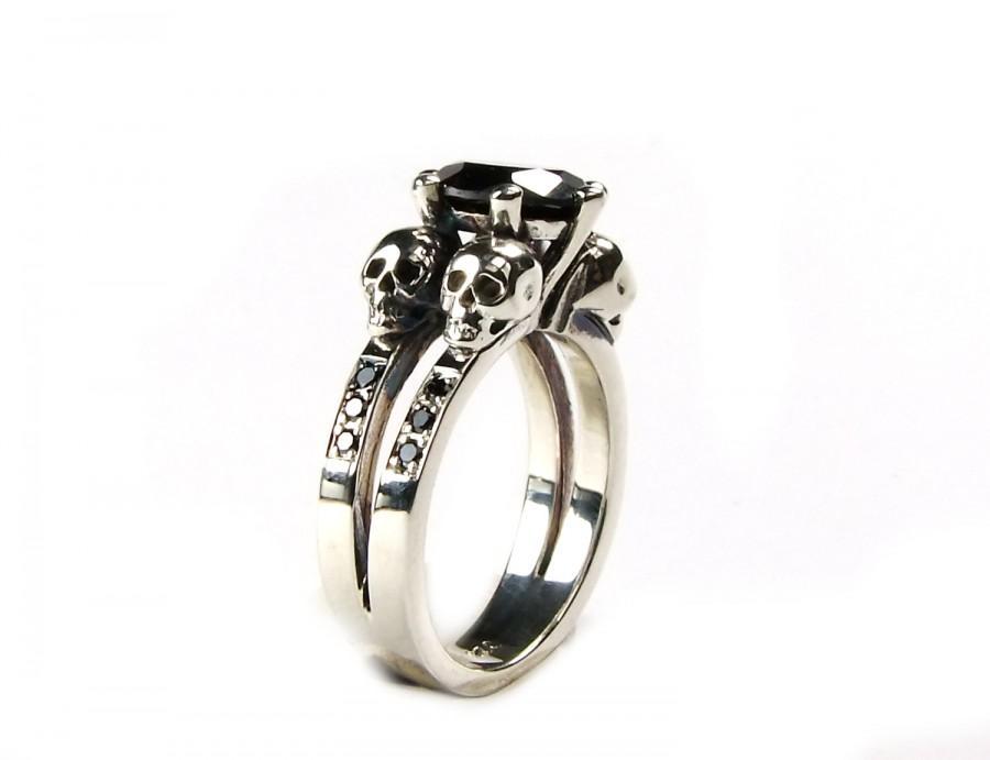 Skull Engagement Ring 7f110ef95c